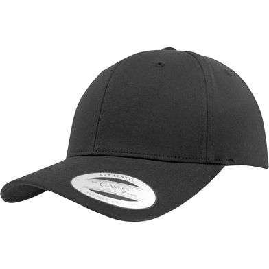 Curved Classic Snapback (7706)(7706) In Black
