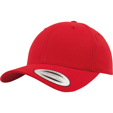 Curved Classic Snapback (7706)(7706) In Red