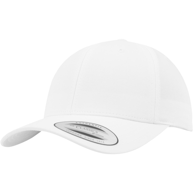 Curved Classic Snapback (7706)(7706) In White
