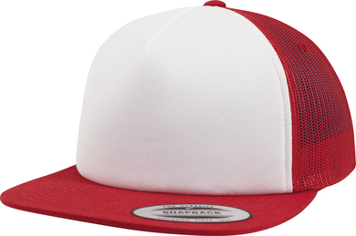 Flexfit by Yupoong - Foam Trucker With White Front (6005FW)