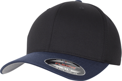 Flexfit Woolly Combed 2-tone (6277T) In Black/Navy