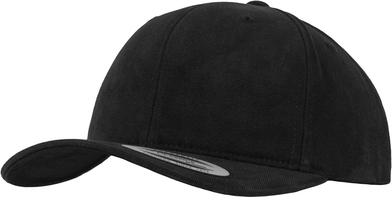 Brushed Cotton Twill Mid-profile (6363V) In Black