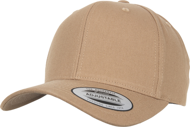 6-panel Curved Metal Snap (7708MS) In Croissant